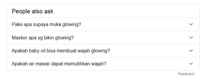 Pertanyaan Pembaca di SERP